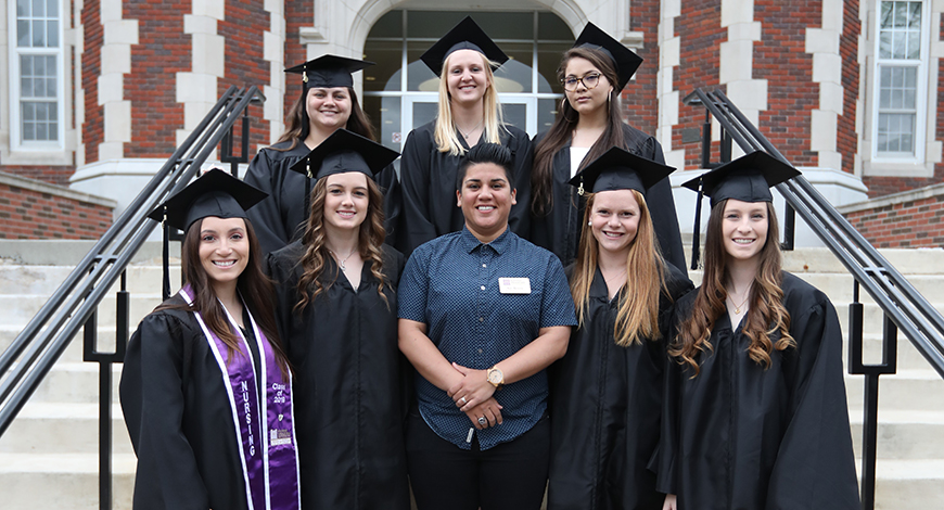 cd6ee6d596c Photo for KANSAS WESLEYAN STUDENT-ATHLETES HONORED DURING GRADUATION  WEEKEND ACTIVITIES Photo for Women s Soccer ...
