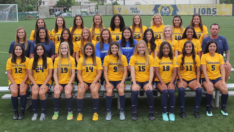 c22bac0c9 2018 Women s Soccer Roster - Vanguard University