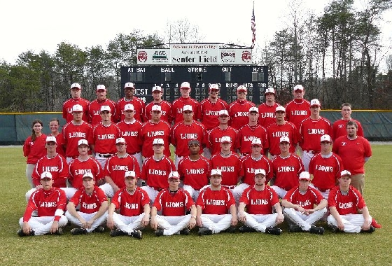 2009 Baseball Roster Bryan College