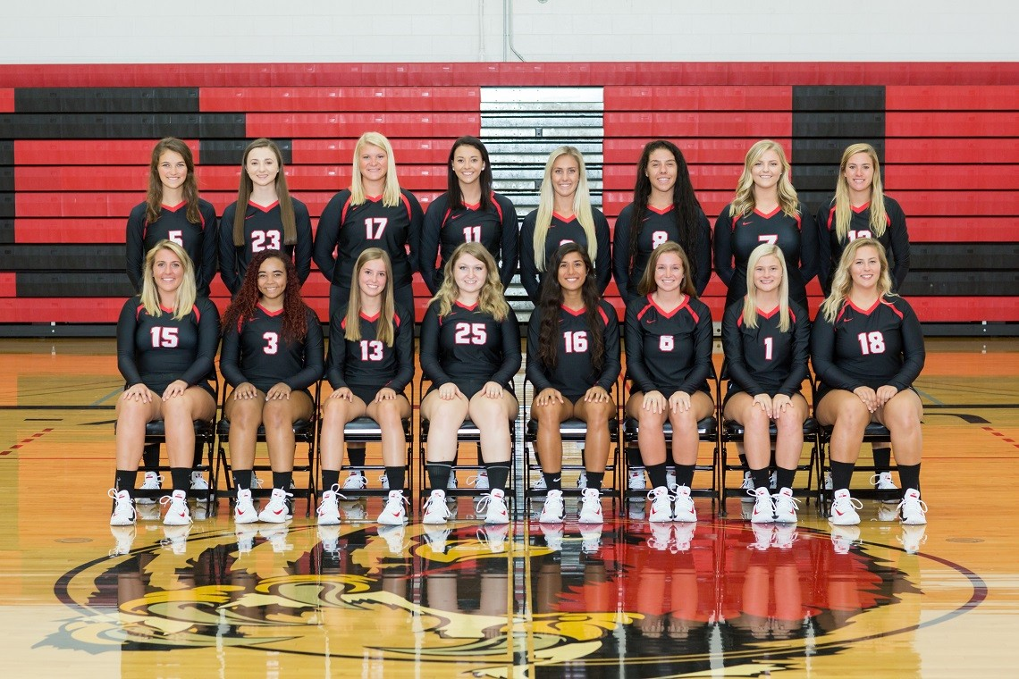 2017 Volleyball Roster Concordia University