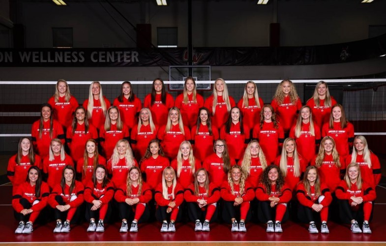 2019 Women S Volleyball Roster Grand View Athletics