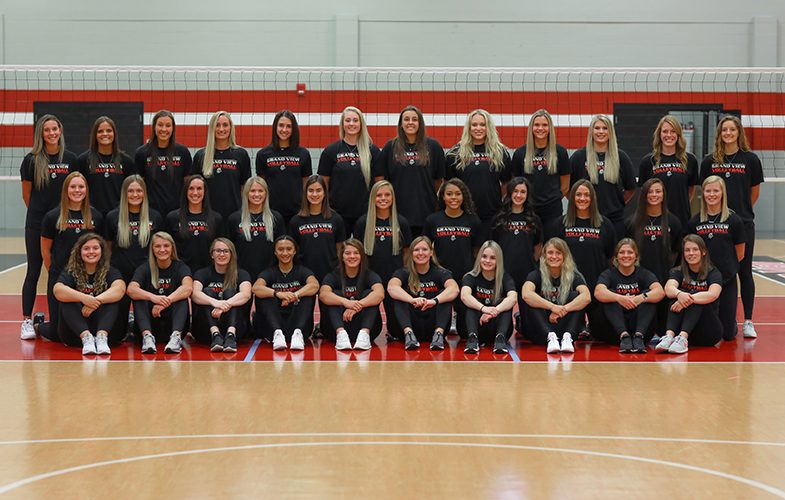 2020 Women S Volleyball Roster Grand View Athletics