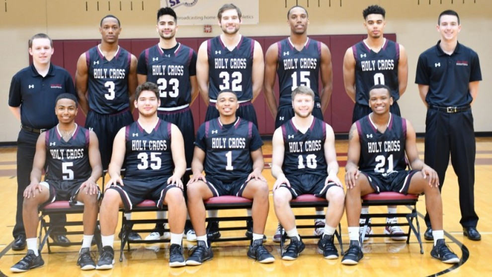 2018 19 Men S Basketball Roster Holy Cross College