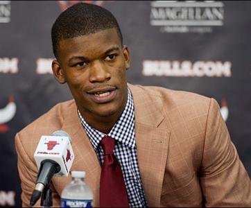 Bulls Sign Rookie Guard Former Apache Jimmy Butler