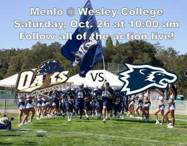 Wesley College Football >> Live Web Stream Football Wesley College Saturday 10 00