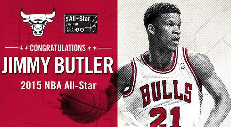 c2e3dd366eb3 Former Apache Jimmy Butler Named to 2015 NBA All-Star Roster