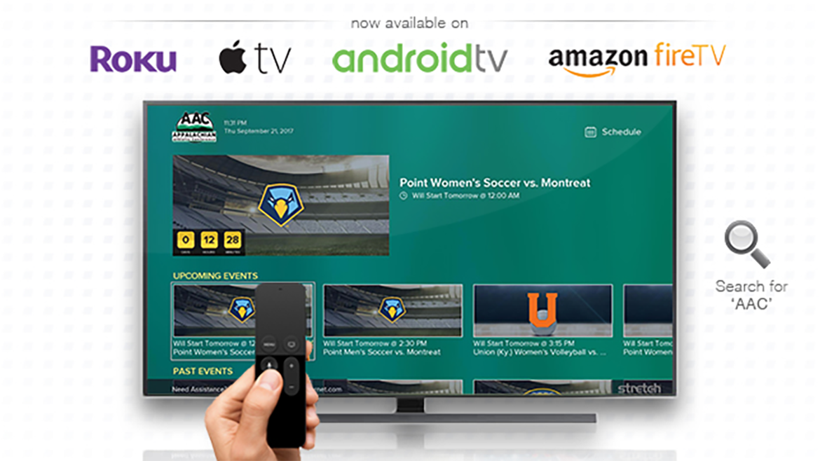 AAC Digital Network Now Available on Roku, AppleTV & More