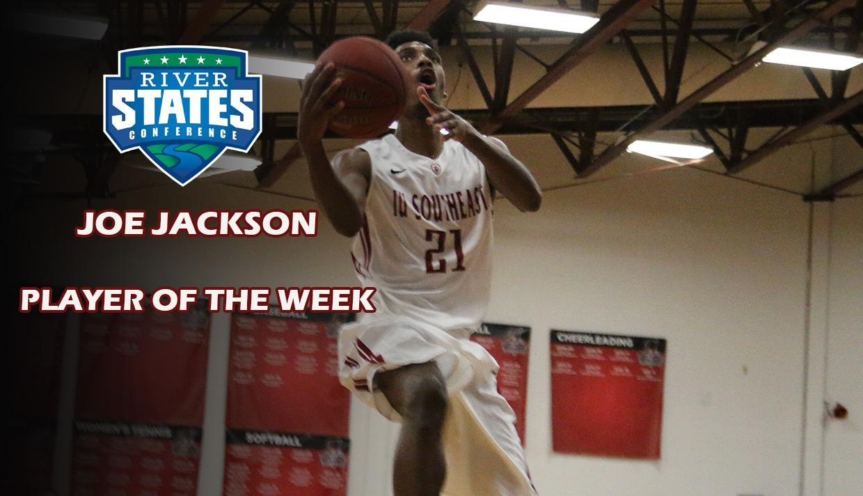 half off a571d 04acf Joe Jackson Named RSC Player of the Week | Indiana ...