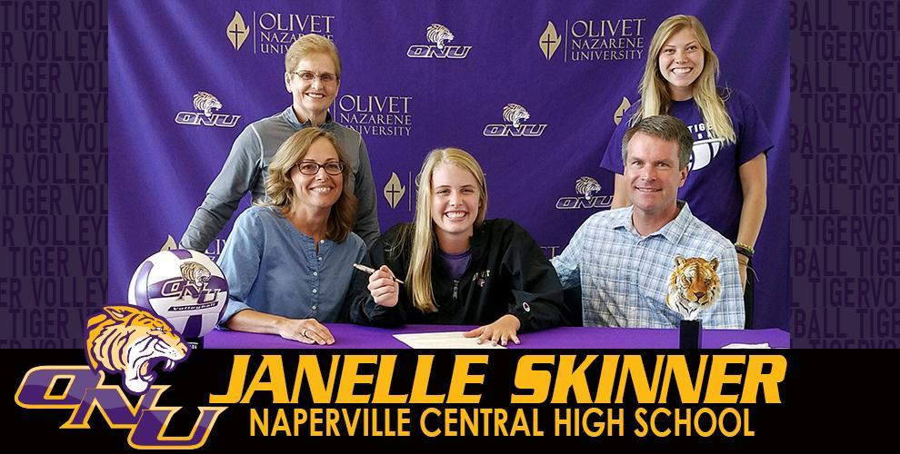 Skinner Inks With Tiger Volleyball For 2018 Olivet Nazarene University Illinois Athletics