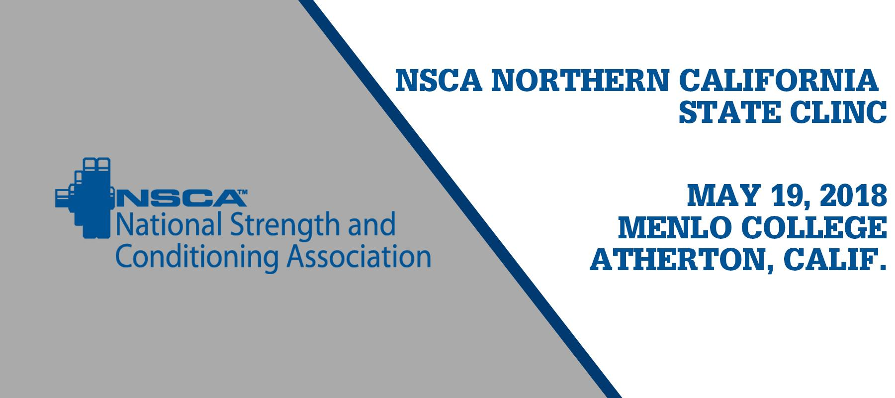 Menlo College Hosting NSCA Northern California State Clinic