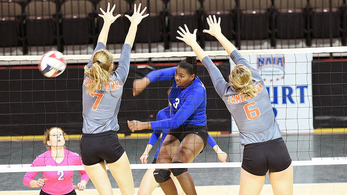 Lindsey Wilson Volleyball moves to 2-0 in pool A with sweep