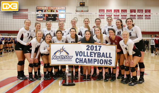 V Hawks Sweep Bellevue For Third Straight Nsaa Volleyball Championship Viterbo University Athletics