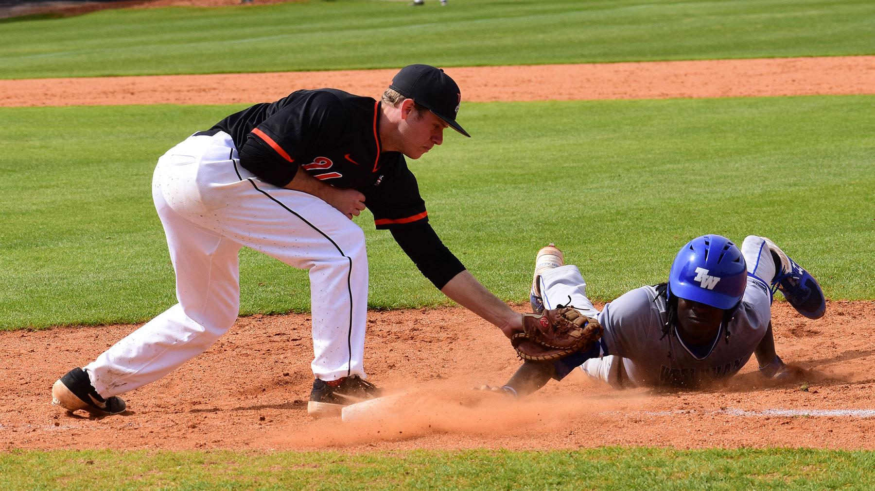 No 2 Tennessee Wesleyan Wins Series Finale But Baseball Claims Series Union College Athletics