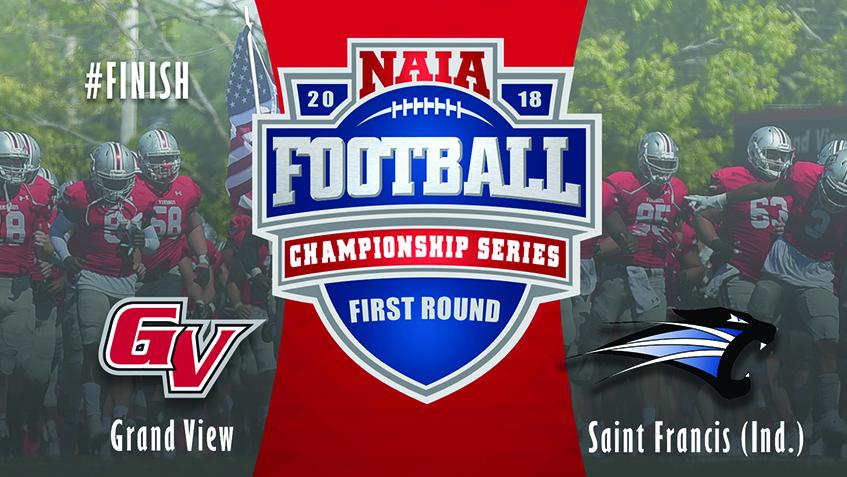 Football Championship Series Match Ups Grand View At University Of