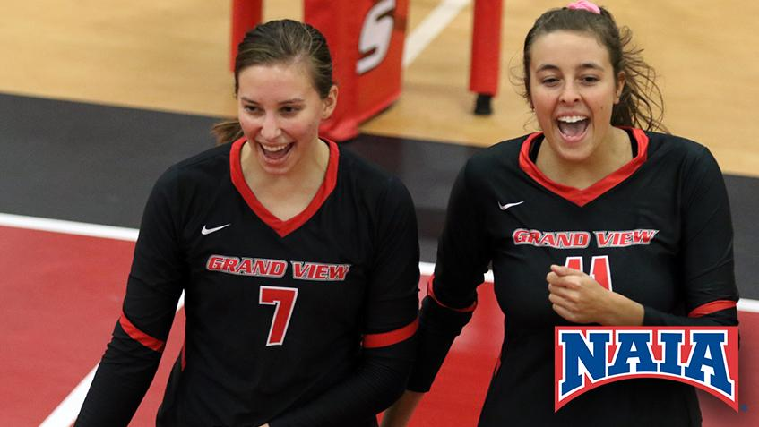 Women S Volleyball Ranked No 11 In Latest Naia Poll Grand View Athletics