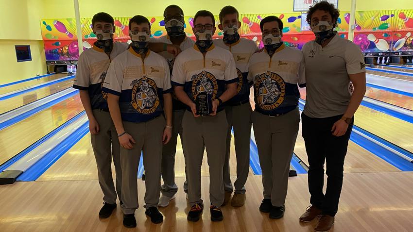 2020-21 Men's Bowling   Marian University - Indianapolis Athletics