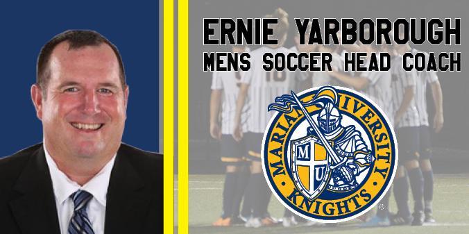 04582fc6 Ernie Yarborough Hired As New Men's Soccer Head Coach | Marian ...
