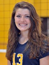 Lauren Gregory 2013 Volleyball Roster Marian University
