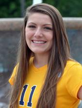 Lauren Gregory 2014 Volleyball Roster Marian University