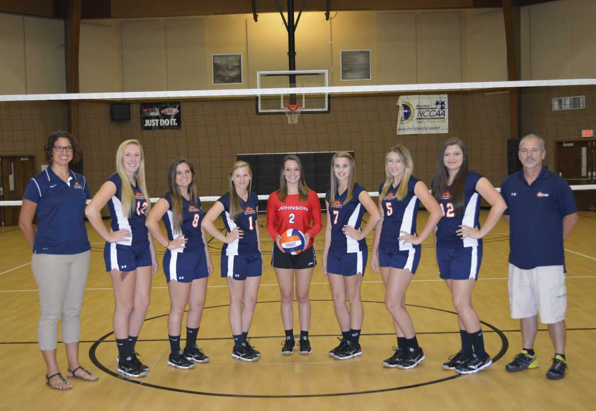Johnson University Florida 2016 Volleyball Roster