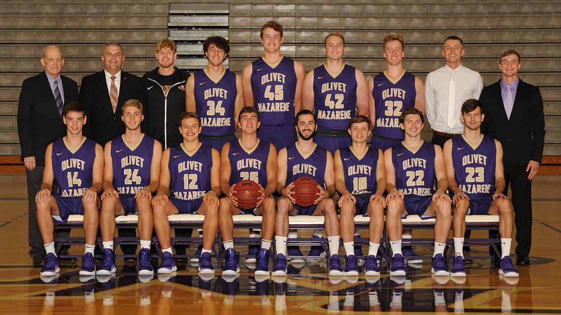 2018 19 Men S Basketball Roster Olivet Nazarene University Illinois Athletics