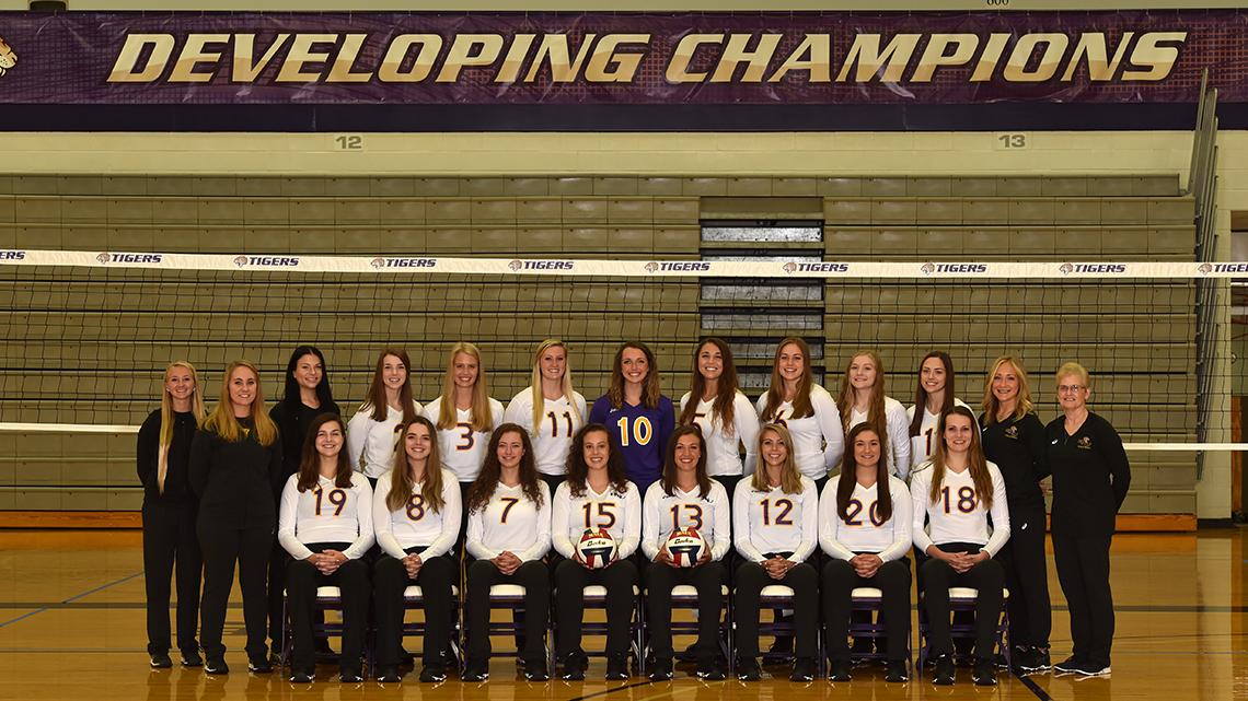 2018 Volleyball Roster Olivet Nazarene University Illinois Athletics