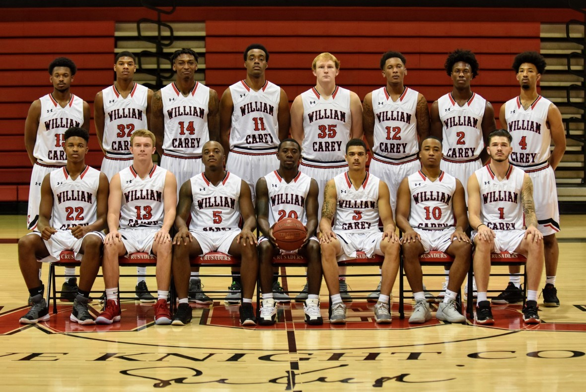 2018 19 Men S Basketball Roster William Carey University Athletics