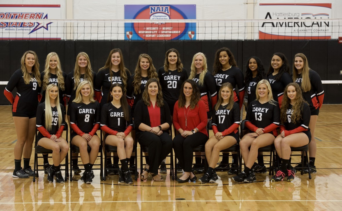 2018 Volleyball Roster William Carey University Athletics