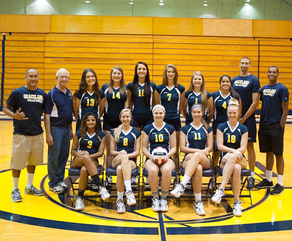 2014 Volleyball Roster Graceland University
