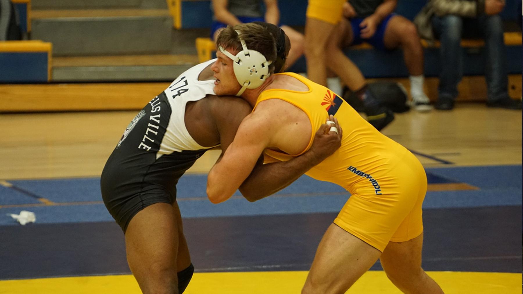 2020-21 Men's Wrestling | Embry-Riddle Aeronautic University (Arizona)  Athletics